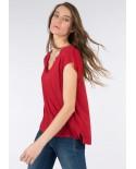 Camiseta Eunice rojo