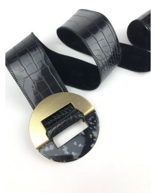 kokodol.com - Cinturón Zailan negro