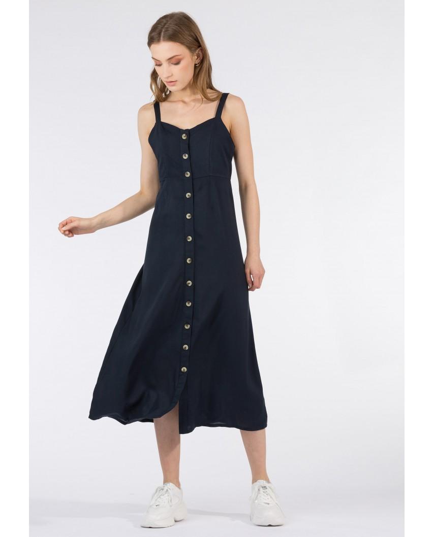 Vestido Arcari azul