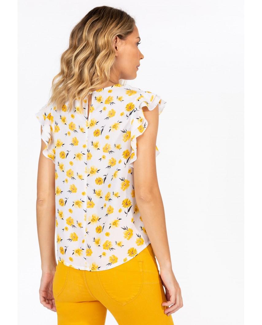 kokodol.com - Blusa Sassy amarillo