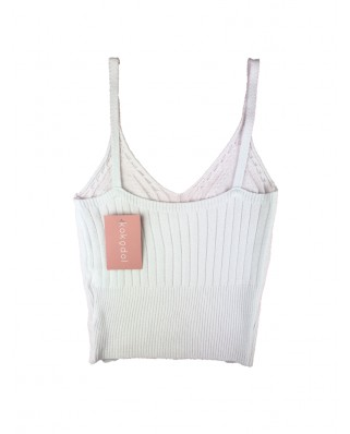 kokodol.com - Crop Top Hilo blanco