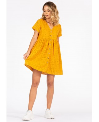 kokodol.com - Vestido Hanna amarillo