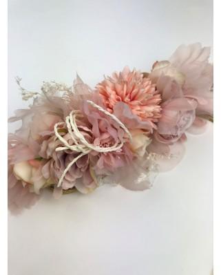 kokodol.com - Cinturón Cordón Flores Sweet nude