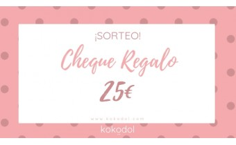 !SORTEO! Cheque Regalo 25€